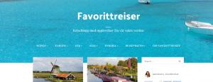 Favorittreiser - en reiseblogg