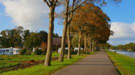 Bobilparkering i Giethoorn