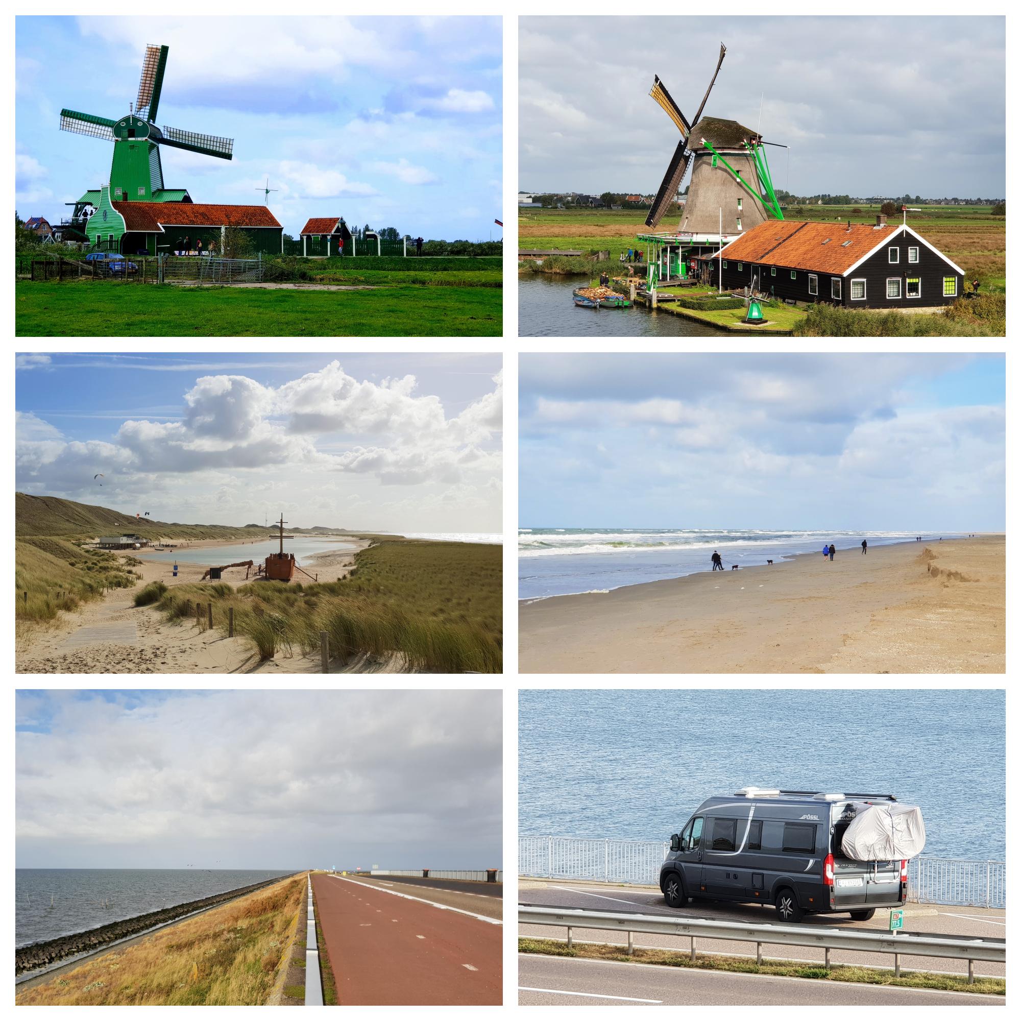 Opplevelser i Holland på bobilferie