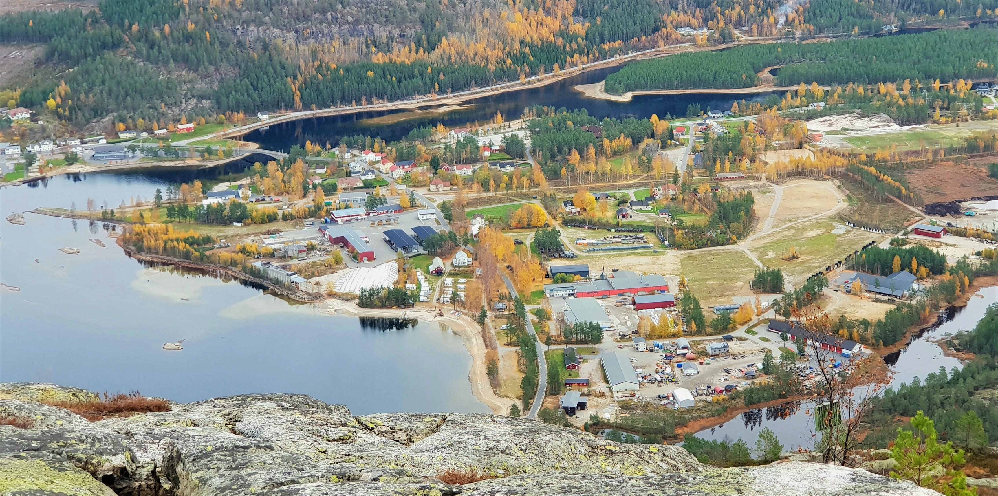 Utsikt fra Skuggenatten
