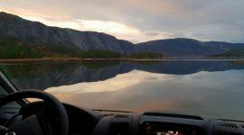 Saga Camping med topptur til Skuggenatten