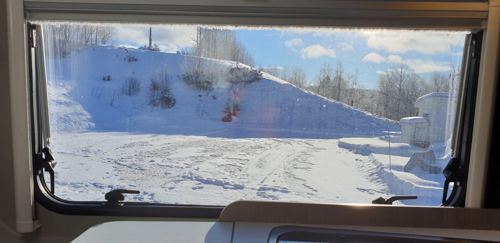 Hagen Vintercaravan - bobilparkering vintercamping