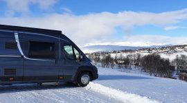 Vintercamping på Rauland