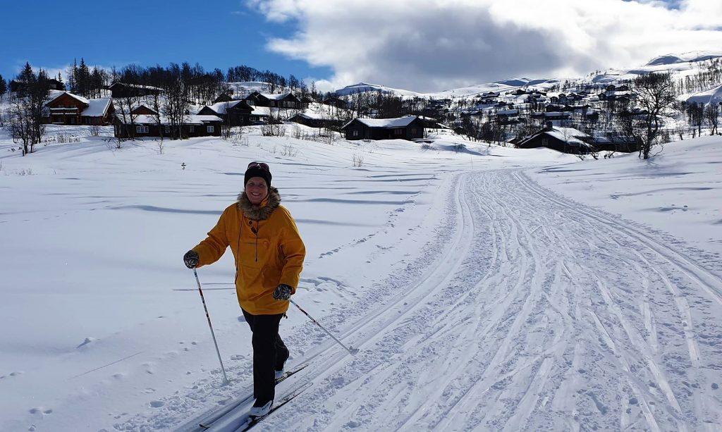 Skitur på Vierli på Rauland - Bobiltur