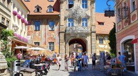 Camping med bobil i Bamberg