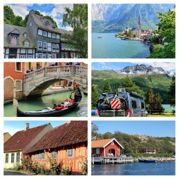 Bobilferie i Europa: 19 dagers rundreise i 6 land