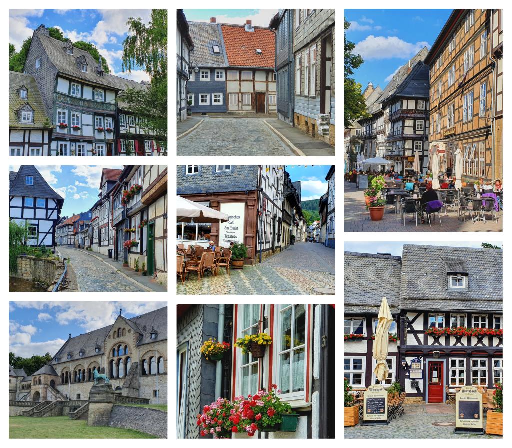Goslar er en koselig by som er verdt å besøke på bobilferie i Tyskland