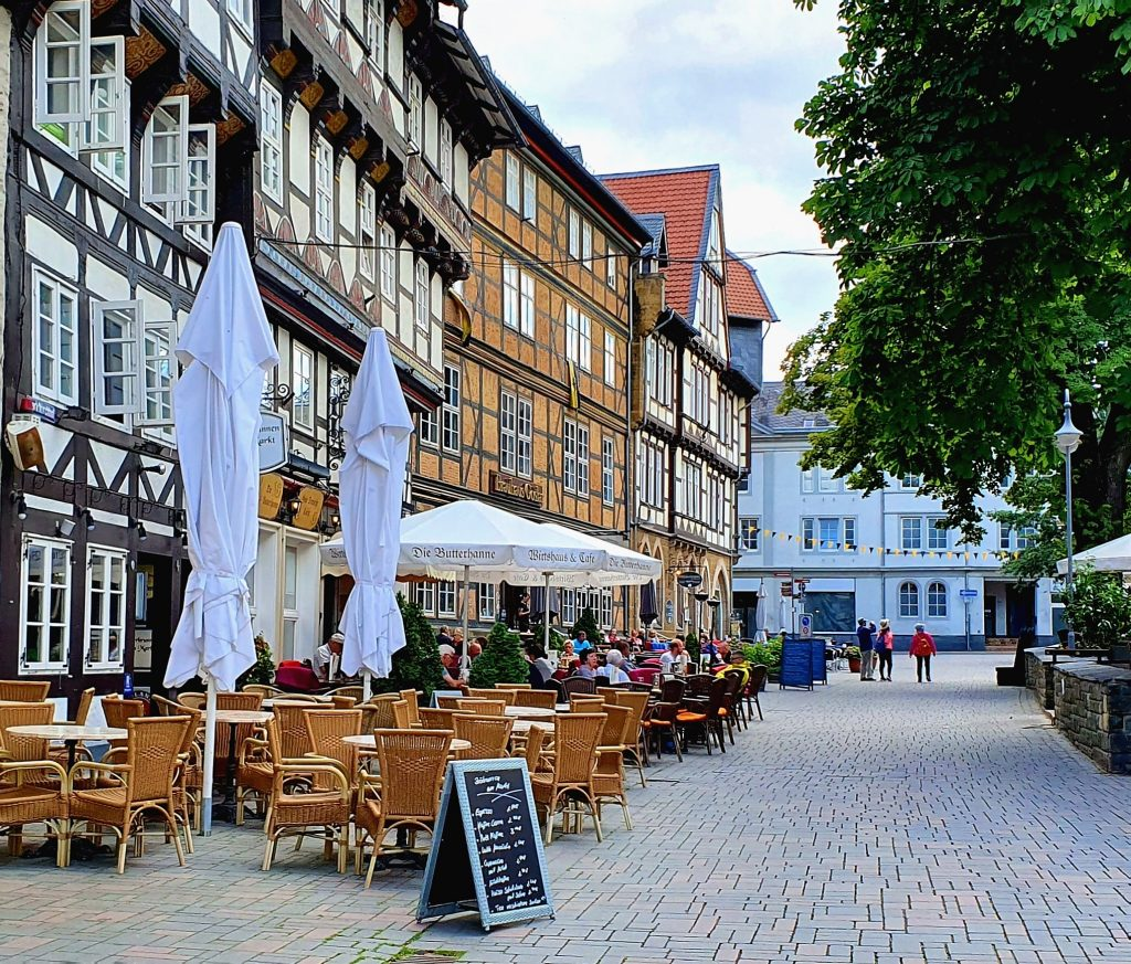 Goslar er et fint sted for et stopp på bobilferie i Tyskland