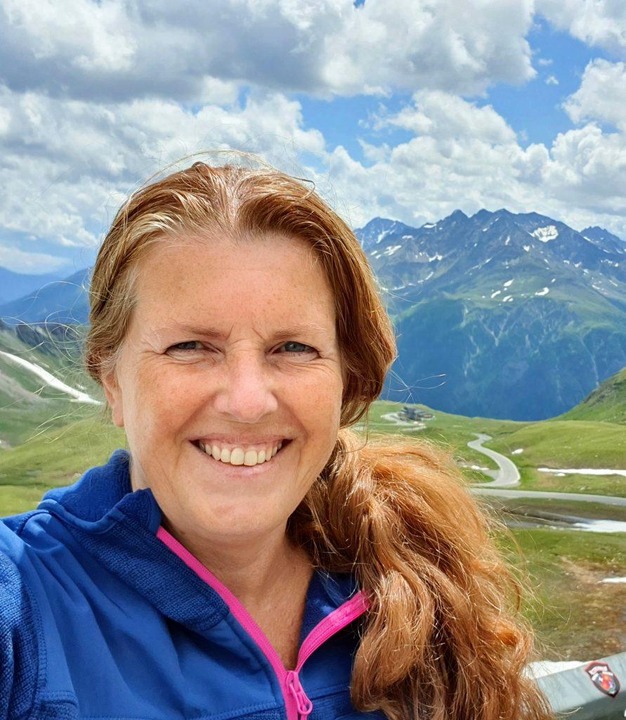 Reiseblogger Anne Bente Hauge på Grossglockner