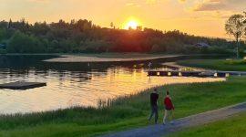 Reisebrev dag 1 – på vei til Lofoten: Larvik – Rena