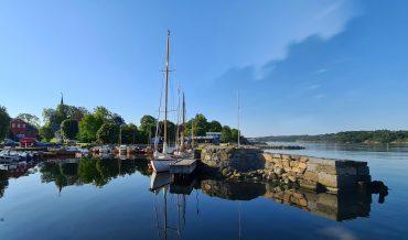 Bobilparkering i Larvik