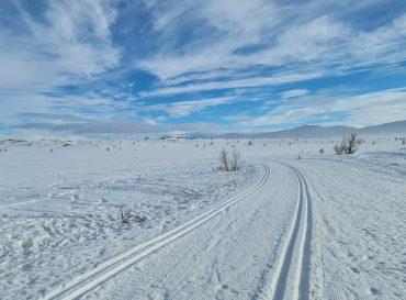 Vintercamping på Dagali med bobil