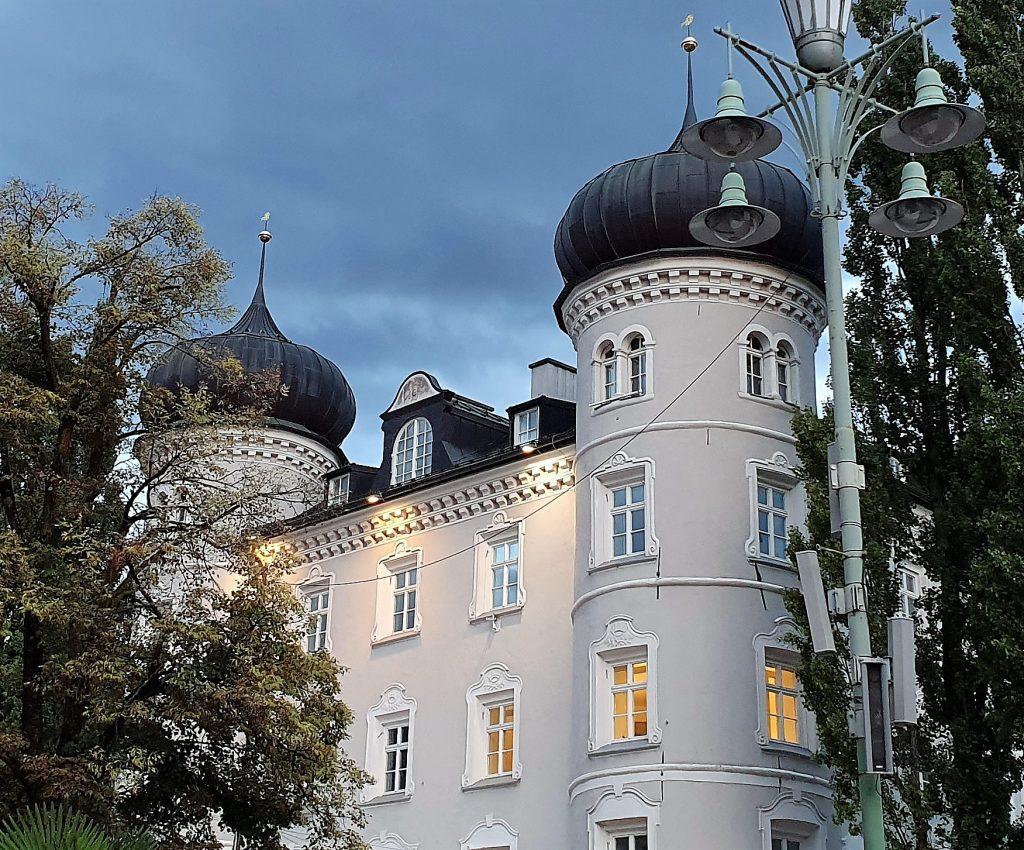 Slott og rådhus i Lienz