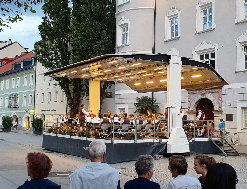 Gratis konsert ved rådhuset i Lienz