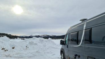 Reisebrev fra vinterferie på fjellet med bobilen